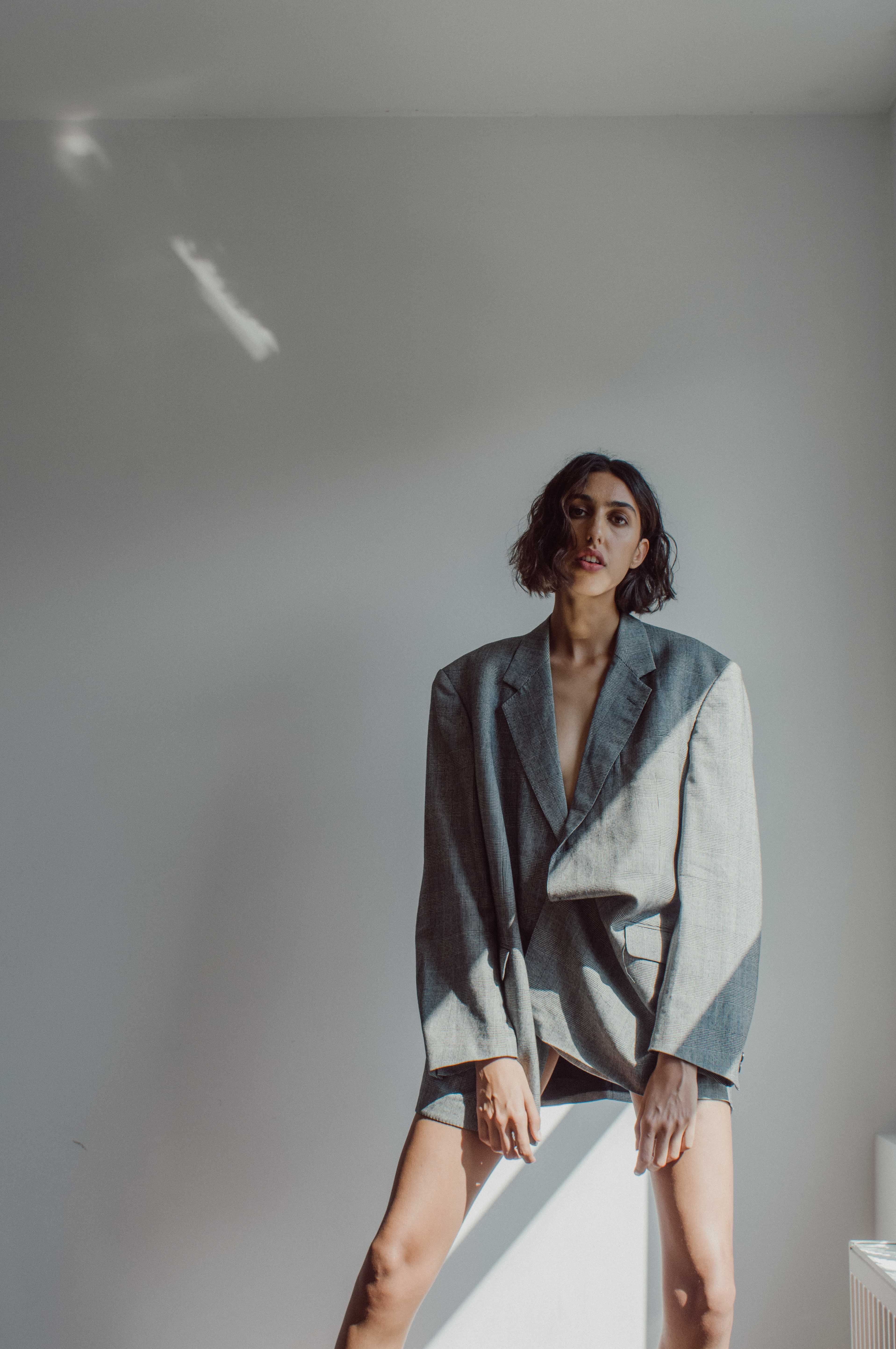 Fade to Dusk fashion editorial photography and creative direction by Lola Noir, Model Mattanja Ewida, styling by Candice Kruishaar, makeup & hair by Iraj Raghosing